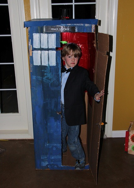 Is there an eleventh doctor in the house? (Sorry, we go through a lot of Doctor Who jokes around here ….) The seven-year-old child as the 11th Doctor.