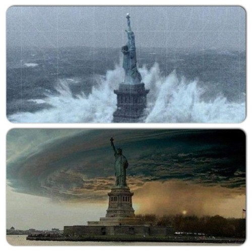 #hurricanesandy the veiw is pretty cool