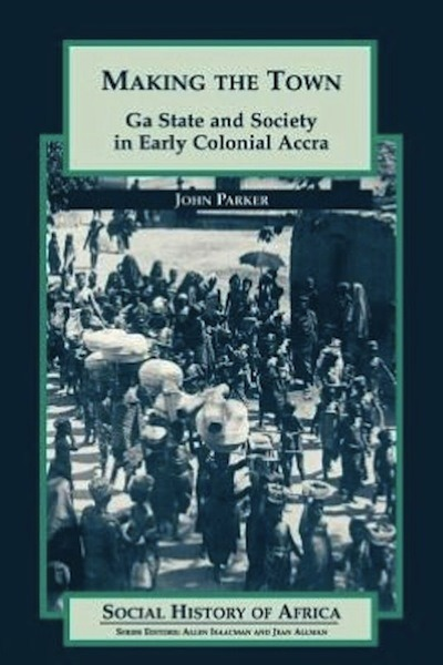 Currently Reading: Making the Town: Ga State and Society in Early Colonial #Accra From the publishers: Making the Town is the social history of a West African urban community, the Ga people of Accra, Ghana, from the 1860s to the 1920s. Its focus is town politics, and it shows how the Ga townspeople actively shaped Accras transition from pre-colonial city-state to colonial port city. Any chance that someone else out there is also reading this (or sections of it) that would like to chat about it?  Message me.