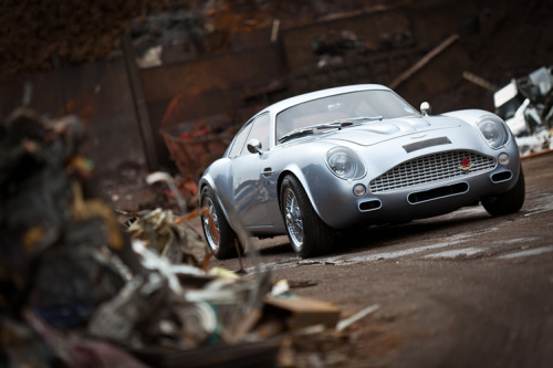 Aston Martin DB7 conversion. Most beautiful car ever.