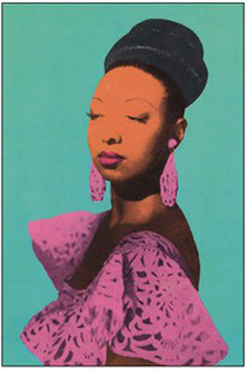 wearecivilized:  Josephine Baker | Andy Warhol