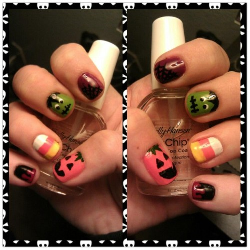 hellogiggles:  Nails Of The Day: NAILS OF THE DAYby From Our Readers  http://bit.ly/TqPXS2  How are people so good at things?!