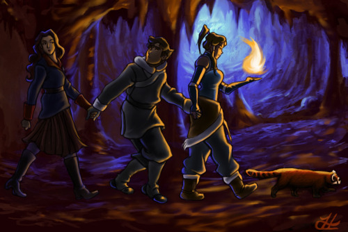 avatarskorraang:  LOK: The Cave