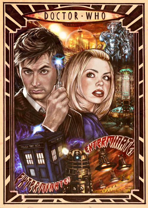 whovism:  Doctor Who ~season 2~ Poster by AdrianaMelo