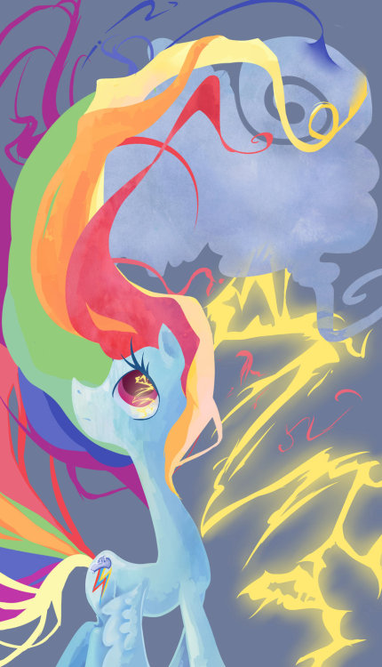 theponyartcollection:  Lightning by *My-Magic-Dream