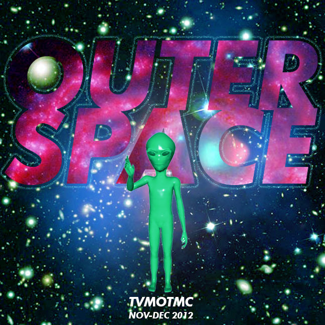 NOV-DEC ASSIGNMENT Outer Space Due: December 31st, 2012 Many predict the world's demise on December 12, 2012. Humans from all over the Earth have been building and living on NASA's International Space Station for over ten years now. Will the humans that manage to survive the apocalypse inhabit outer space? Who knows? Who cares! For now, let's just keep dancing to our favorite songs about this crazy infinite universe.   Objective: ♥ Share music, make art, and keep post alive.♥ How it works: Following the assignment and the rules, make a mix and submit it by the deadline. The submissions will be made into a compilation, mixed and matched to other Tender Validators, and mailed out the following week. Participants receive an anonymous mix, a compilation, and other various tender validations. Be sure to include (on a separate sheet of paper) the mailing address you'd like your mix to be sent. Rules: → 12 song minimum, 1 disk/tape maximum → Track list must be included → Cover art required → Return address provided (on a separate sheet of paper, please! ) → Please keep mix anonymous (you can use an alias) → $3 for postage Drop Locations: →Zebra Club 1901 1st Ave. Seattle, WA (1st & Stewart by Pike Place Market) Mail In: →Leigh's Apartment (message me on FB, or email me at tendervalidations@gmail.com for address)