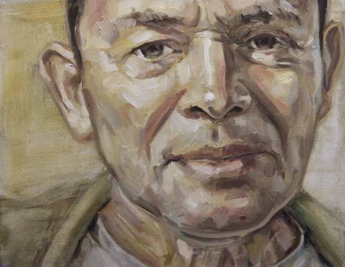 james. 400x300mm. private commission. oil on canvas. 2012.