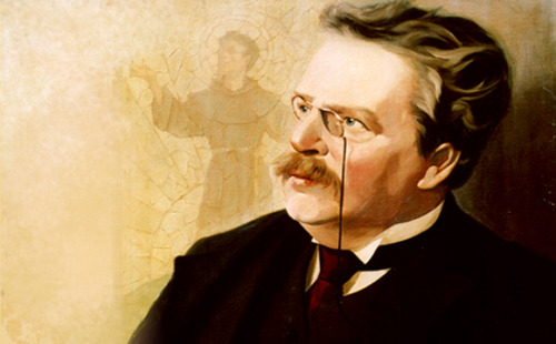 """A room without books is like a body without a soul.""—G.K. Chesterton"