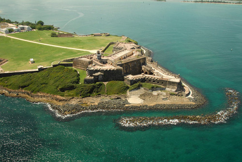 El Morro Castel, Old San Juan by Alberto Delucca Photography on Flickr.