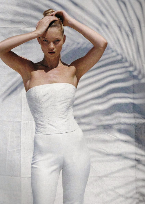 ejakulation:  Kate Moss by Bruce Weber for US Vogue, June 1996
