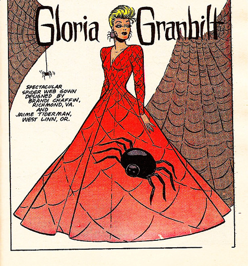 Gloria Granbilt from the Katy Keene Comics (x)