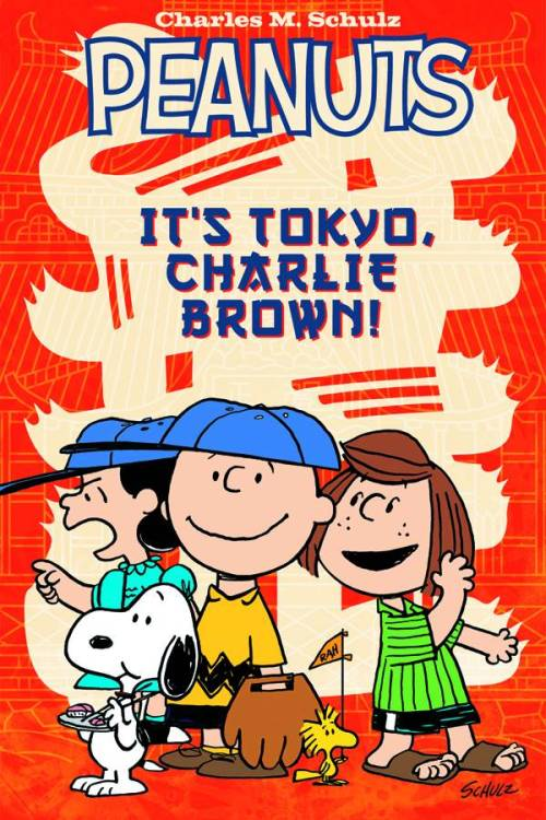 Market Monday It's Tokyo, Charlie Brown! GN by Vicki Scott, inked by Paige Braddock  The Peanuts gang touches down in Tokyo! Charlie Brown and Snoopy lead the charge as the gang's team is selected to represent the United States in an international baseball game in Japan. Charlie Brown can't believe his team was picked, but even with the addition of a sports star like Peppermint Patty, do they have any hope of winning? Between seeing the sights and taking in the best of Japanese culture, Snoopy, Charlie Brown, Peppermint Patty and the rest of everyone's favorite characters still manage to be their incorrigible selves.  ~Preview~