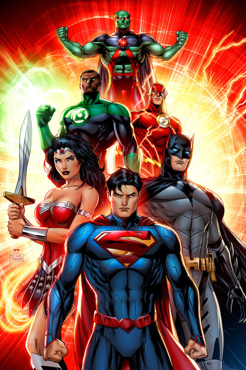 Justice League Commission by Jeremy Roberts
