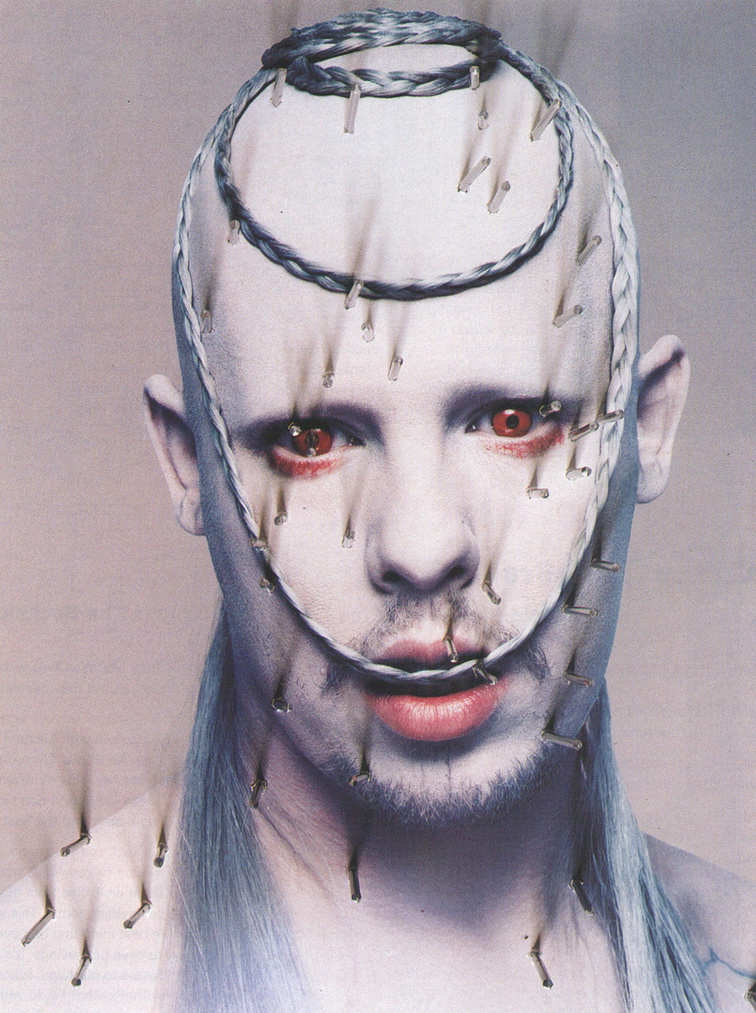 Alexander McQueen: Mc Killer Queen - The Face by Nick Knight, April 1998