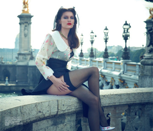 Laetitia Casta by Sean & Seng for Vogue Turkey October 2012