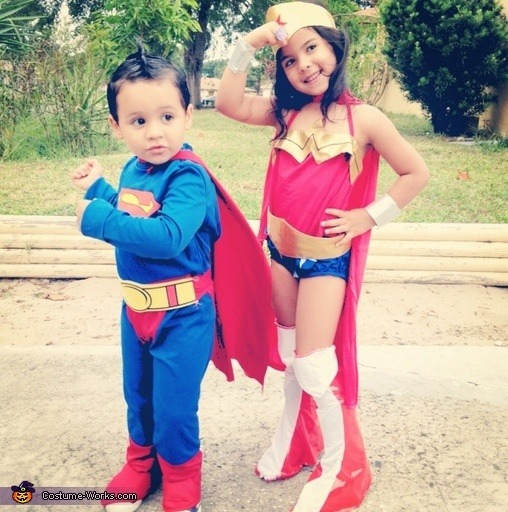 Little super and wonder From costume-works.com
