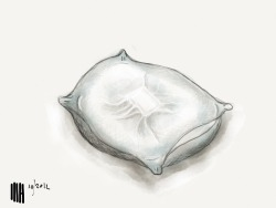Who put that brick in my pillow? High paced sketch made on ipad using paper app by 53. Visit my new site www.dutch-designs.eu