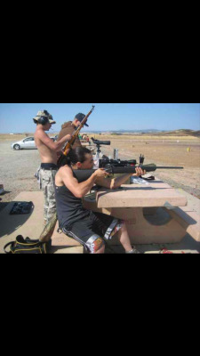 I love shooting guns