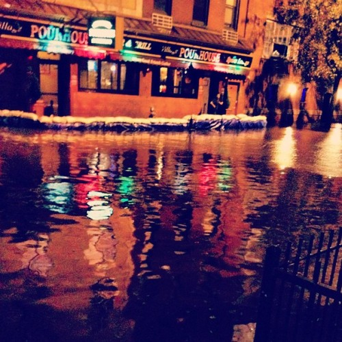 We're going under. #HurricaneSandy