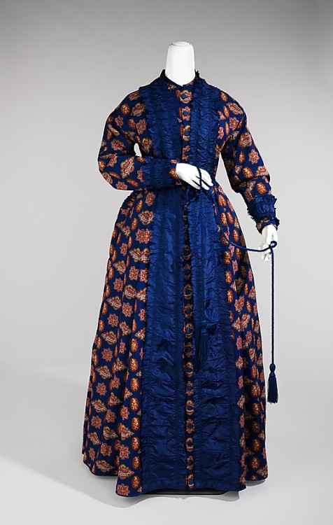 Dressing Gown 1865-1875 The Metropolitan Museum of Art