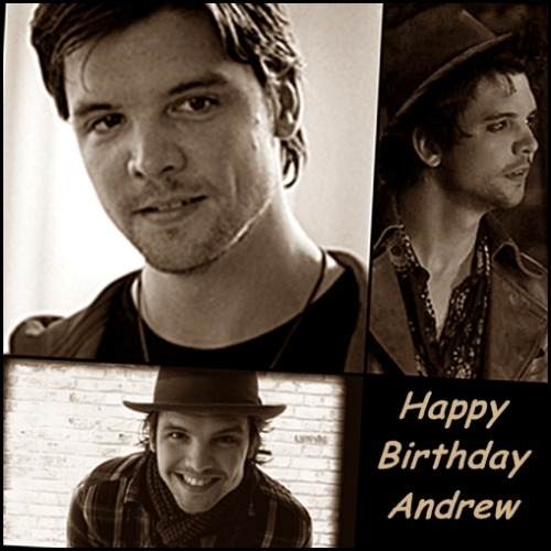 gardenstate22:  Happy Birthday to the supremely talented Andrew Lee Potts