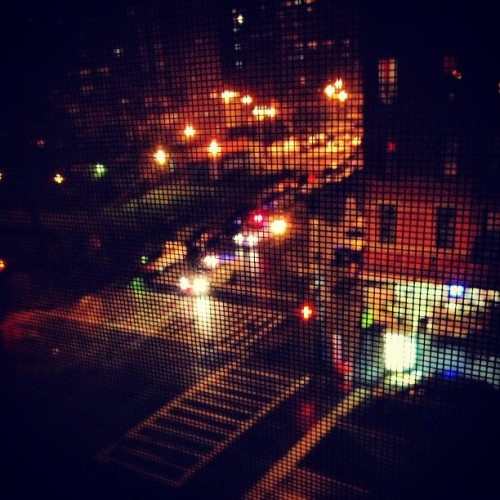 Cops patrolling the hood #hurricanesandy
