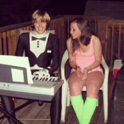 :) #college #piano #holloween  #party
