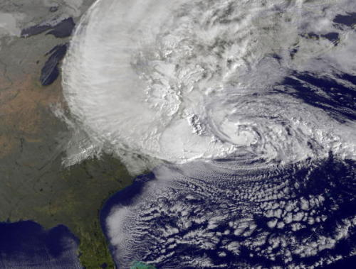georgeguilherme:  Hurricane Sandy from Space