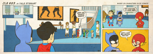 jl8comic:  JL8 #83 by Yale Stewart Based on characters in DC Comics. Creative content © Yale Stewart. Like the Facebook page here! Archive —- Please be safe, all you East Coasters. Seriously.  Thats what all the slow kids say.-Lil' Flash