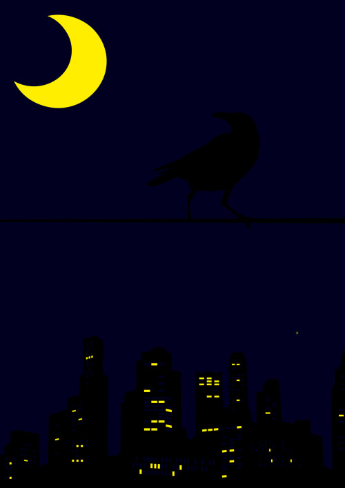 Night Crow by Gattuso