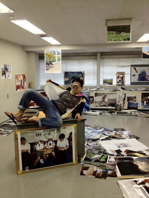 いくしゅんの展示室。私、カメラの才能あるかなこれ……神田TAT9Fです!