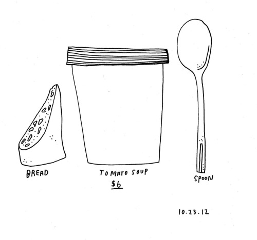 Daily Purchase Drawing 10.23.12  Portland Soup Company // Tomato Soup Kind of Day.