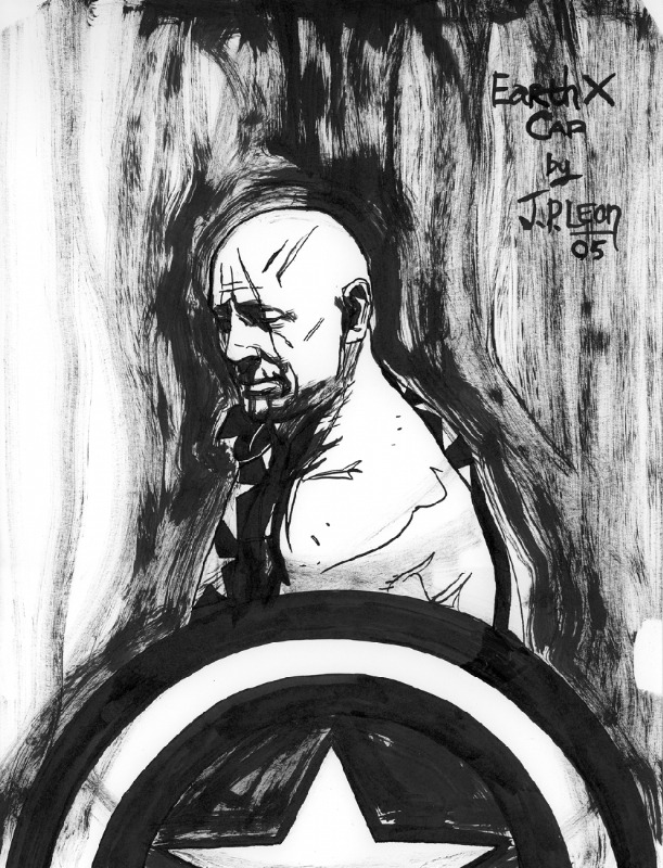 Captain America by JP Leon