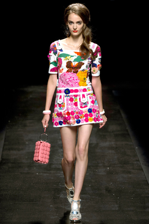 fashion-ocd:  Moschino Spring 2013