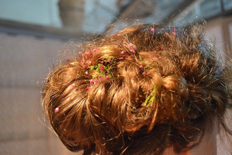 Detail hairstyle, created by Amado Rodríguez