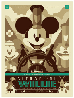 """Steamboat Willie"" by Tom Whalen"