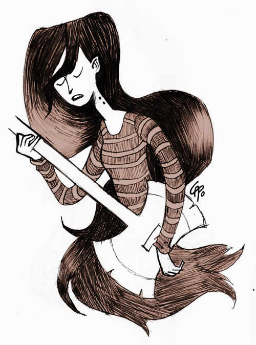 Oh, Marceline - Cathy Poblete 2012 I love Marceline. I just… gosh. Bless this show.