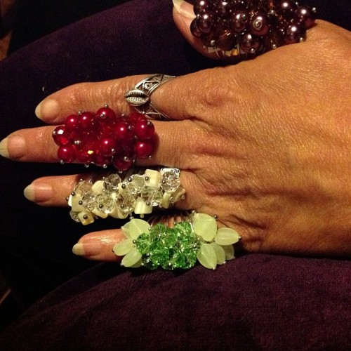 New style rings@NZINGAS.  827 N Market St….they HOT.  Not many… Don't miss em….