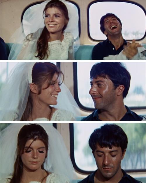 "accroducinema:  The Graduate (1967) ""You're the first thing for so long that I've liked. The first person I could stand to be with.""  :O"