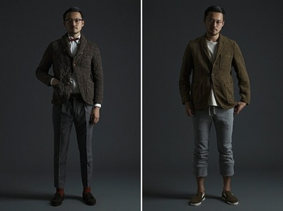 BEAMS 2012 Fall/Winter Collection Tokyo-based retailer/brand BEAMS presents its Fall/Winter 2012 collection in its entirety. Focusing on faithfully recreating American classics using only the finest Japanese fabrics and craftsmanship, the collection also heavily employs Harris Tweed across an assortment of menswear staples – including coats, vests, sweaters and trousers. With an undeniable functionality achieved due in large part to the trim cuts, one can't overlook the accessible colors employed which includes indigo, grey, green, brown and red. Expect to see the Fall/Winter 2012 collection from BEAMS at their retail shops all across Asia.