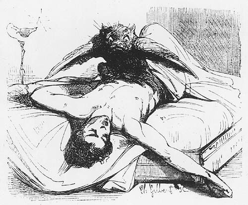 necroluste:  Le Diable Amoureux, the Nightmare.