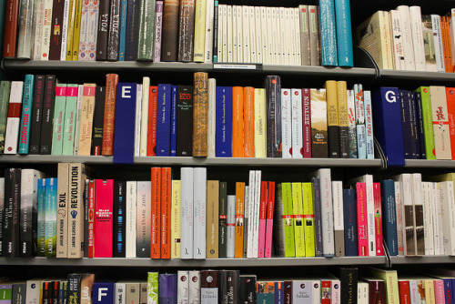 At the Hugendubel bookstore by remizova on Flickr.