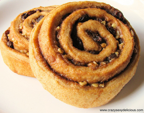 Cinnamon Raisin Nut Roll from Great Harvest by Author Erica Rivera on Flickr.