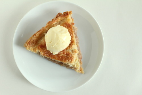 eowyn's apple pie with vanilla bean gelato from Pepper Lynn
