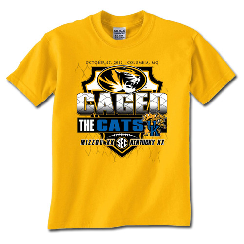 Missouri selling T-shirt to commemorate win over Kentucky Um, that would be 1-8 Kentucky?