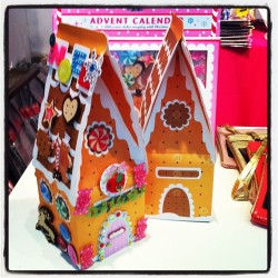 Today the advent calendars are winning. Look how pretty they are!