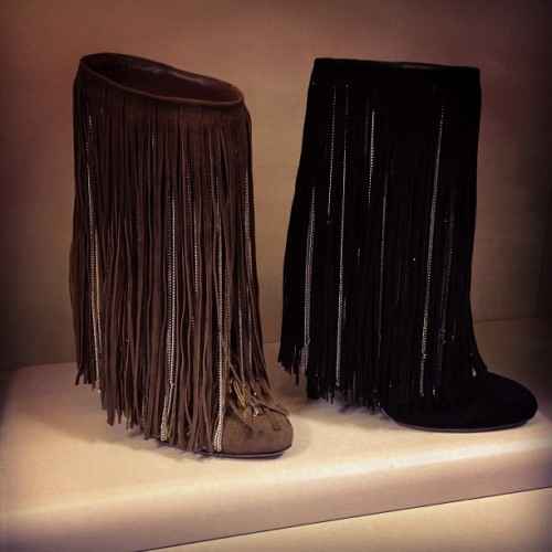 Fringelious at @jimmychooltd