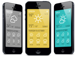 MINIMETEO 1.5 Now available for iPhone5 too! You can get it on minisimpli.com/minimeteo