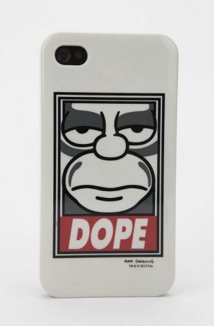 Shepard Fairey x The Simpsons 'Dope' Poster & iPhone Case
