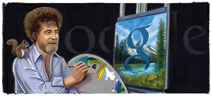 (via Bob Ross' 70th Birthday)